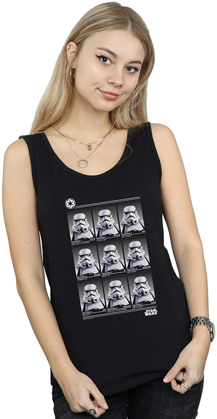 Star Wars Women's Stormtrooper Yearbook Tank Top