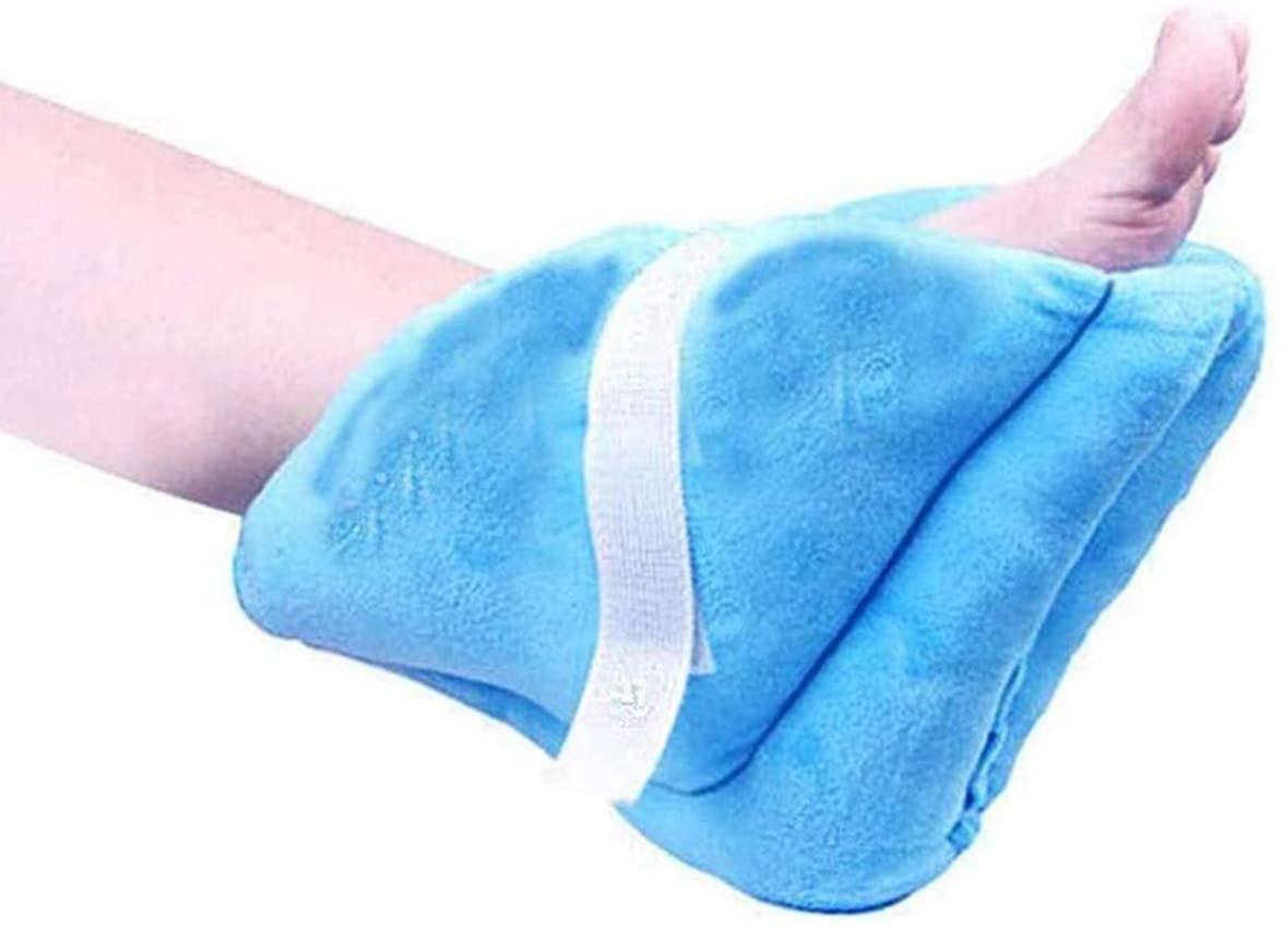 Eurobuy Heel Cushion Protector Pillow, 1Pcs Velvet Foot Support Pillow Pressure Relieving Heel Cushion Protector Pillow for Feet Foot Boot