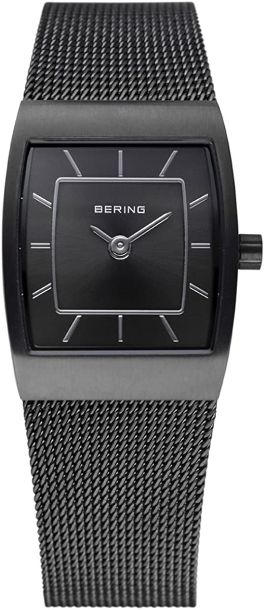 BERING Time | Women's Slim Watch 11219-077 | 19MM Case | Classic Collection | Stainless Steel Strap | Scratch-Resistant Sapphire Crystal | Minimalistic - Designed in Denmark