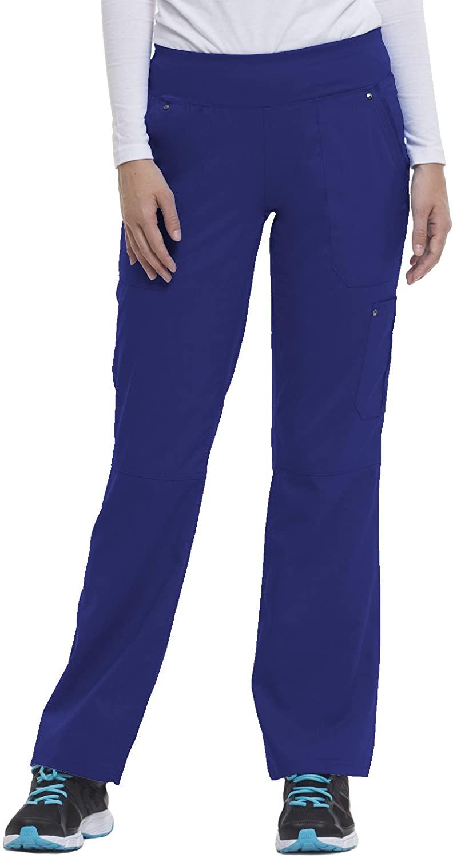 healing hands 9133 Women's Tori Yoga Waistband Scrub Pant Galaxy Blue XST