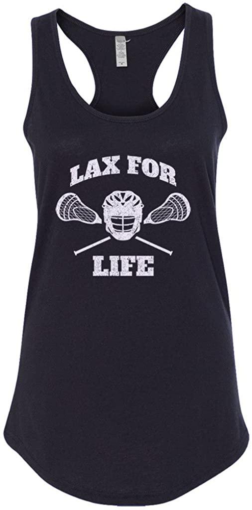 Mixtbrand Women's Lax for Life Racerback Tank Top