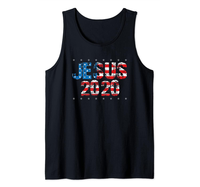 Jesus Christ 2020 - Election Sign Christian Voting Tank Top