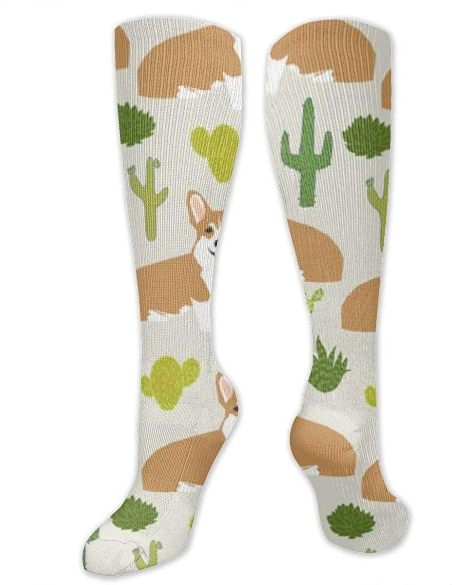 Men Women Novelty Tube Dress Socks Athletic Sports Compression Socks