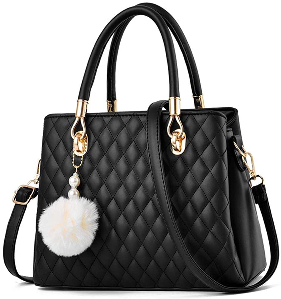 JHVYF Women Top Handle Satchel Handbags Shoulder Bag Tote Purse Messenger Bags