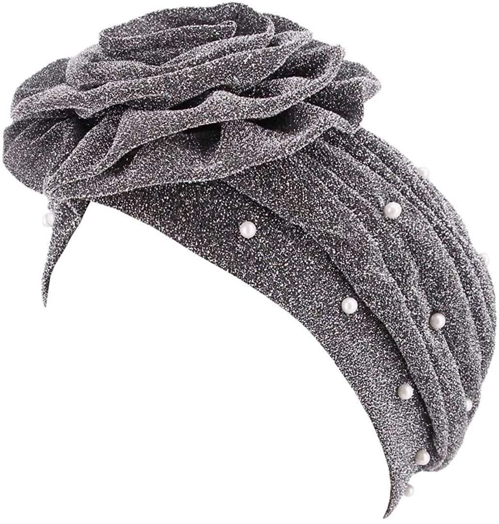 Surkat African Printing Turban Cap Hairwrap Headwear Sleep Chemo Bonnet Hat Beanie for Women