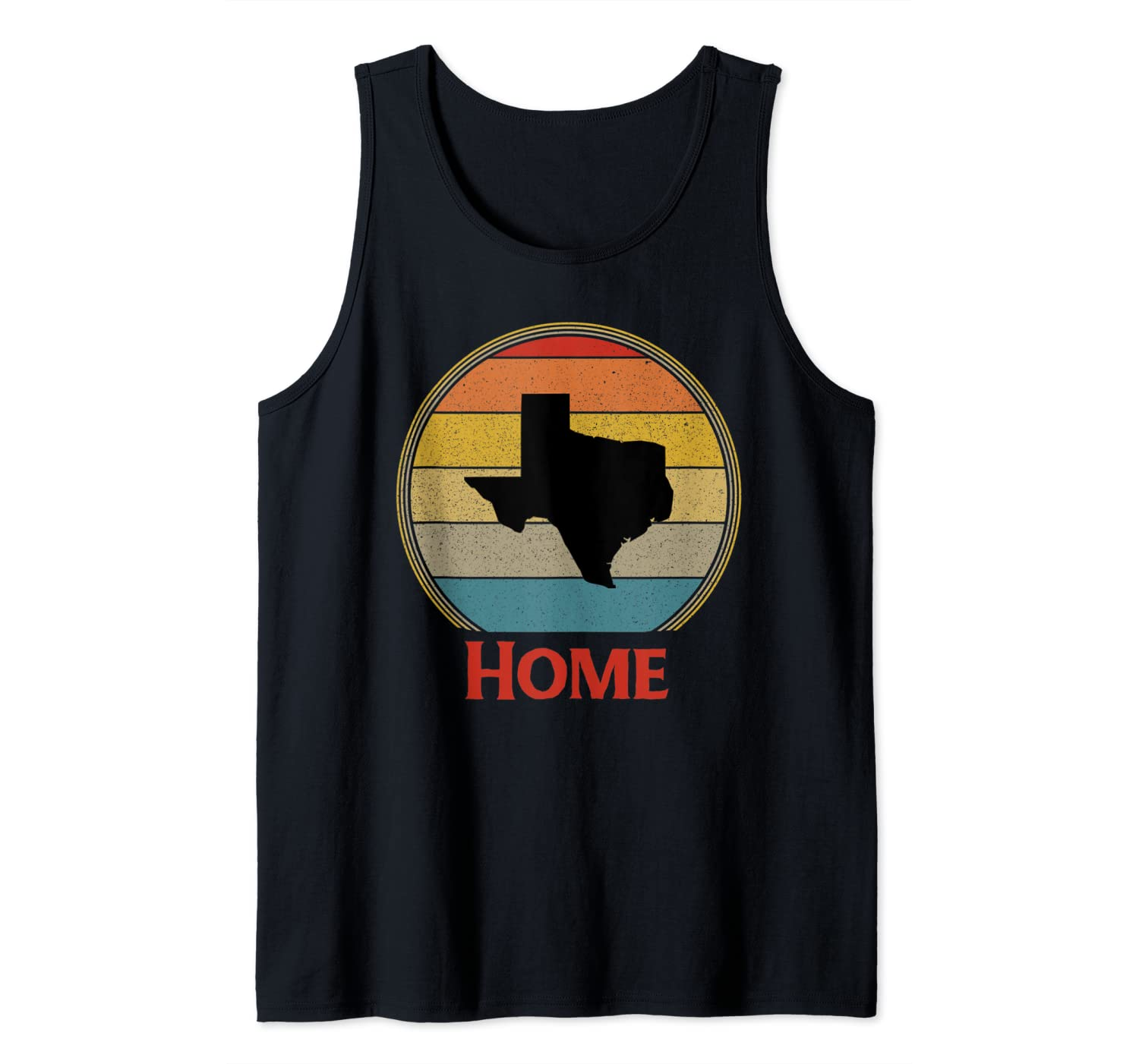 Vintage Texas Home Native Mens Womens Gift Tank Top