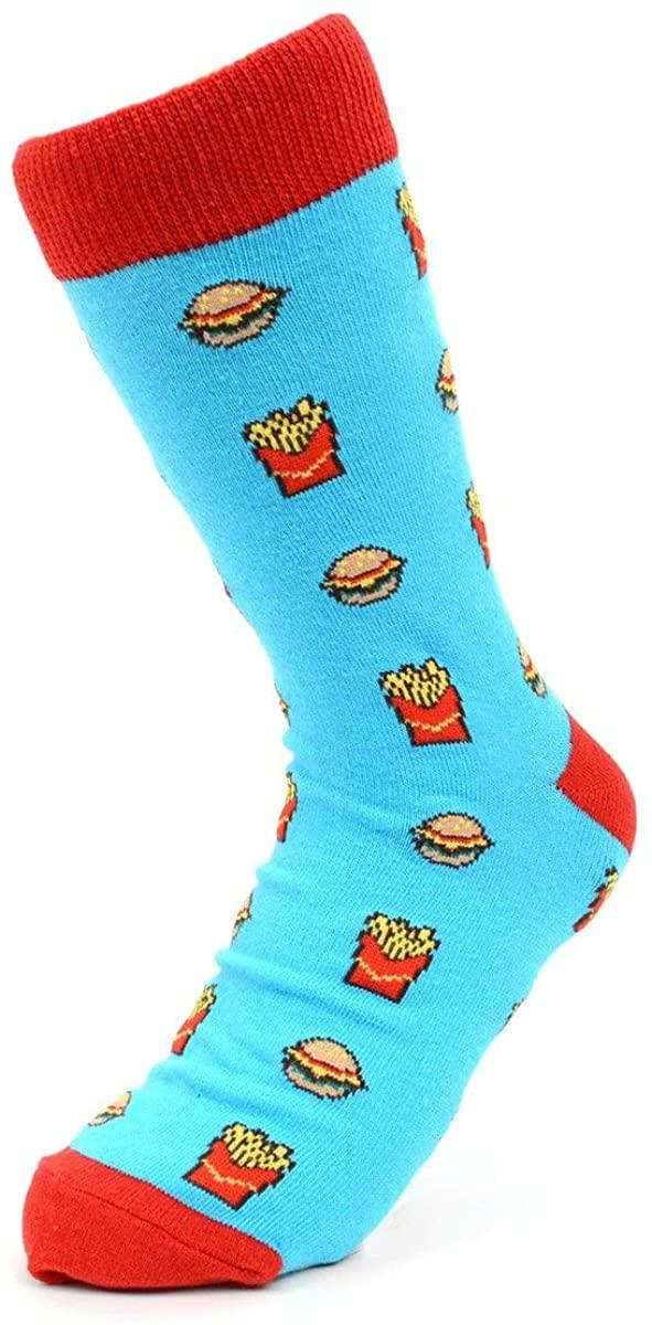 Women's Fun Crew Socks, Sock Size 9-11 / Shoe Size 4-10, Great Holiday/Birthday Gift