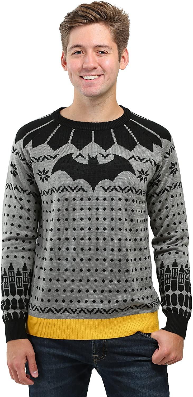 Classic Batman Ugly Christmas Sweater