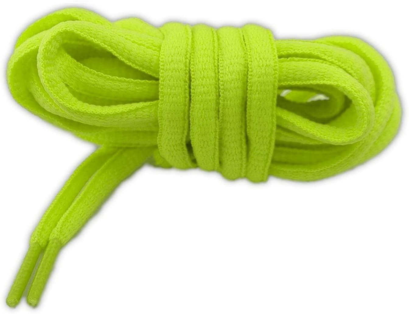 neon Oval Sport Shoelaces 49