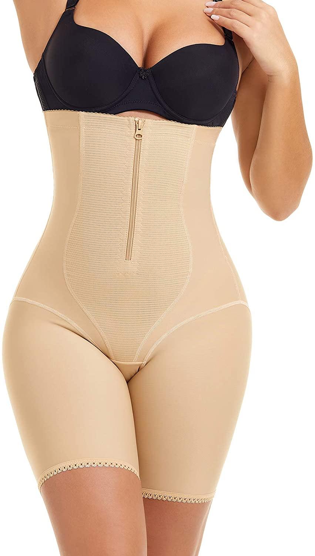 Larrycard Women Shapewear Tummy Control High Waist Body Shaper Shorts Thigh Slimmer