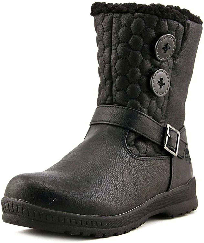 pansonite Women's Comfort Snow Boot, Black, 10