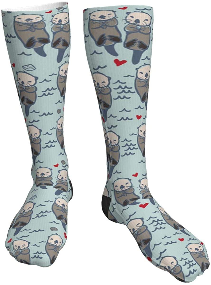 MINISOON Women's Moisture Wicking Heavy Cushion Novelty Funny Casual Cotton Athletic Crew Socks