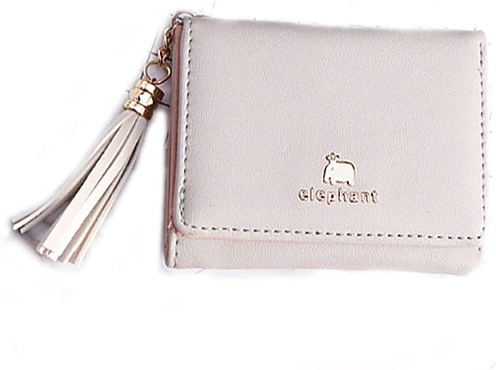 Small Cute Wallets for Teen Girls PU Leather Credit Card Holder Mini Pocket Purse for Women