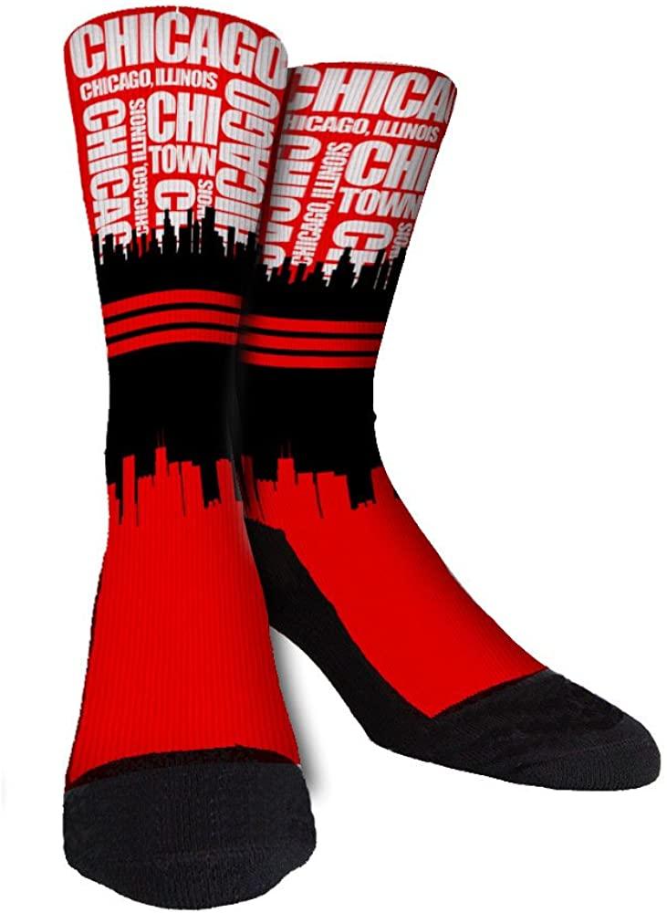 Chicago SockScapes Unisex Casual Crew Socks