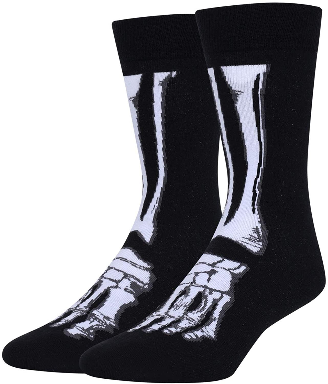 Zmart Men's Funny Alien Space Ufo Rocket Socks Astronaut Bigfoot Sasquatch Science Gifts