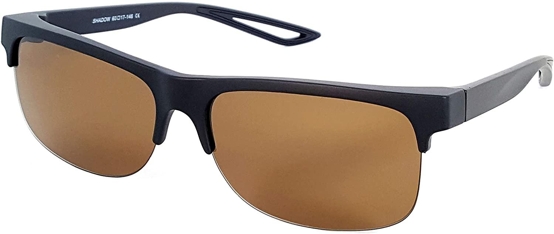 Fit Over Polarized Sunglasses Driving Clip on Sunglasses to Wear Over Prescription Glasses