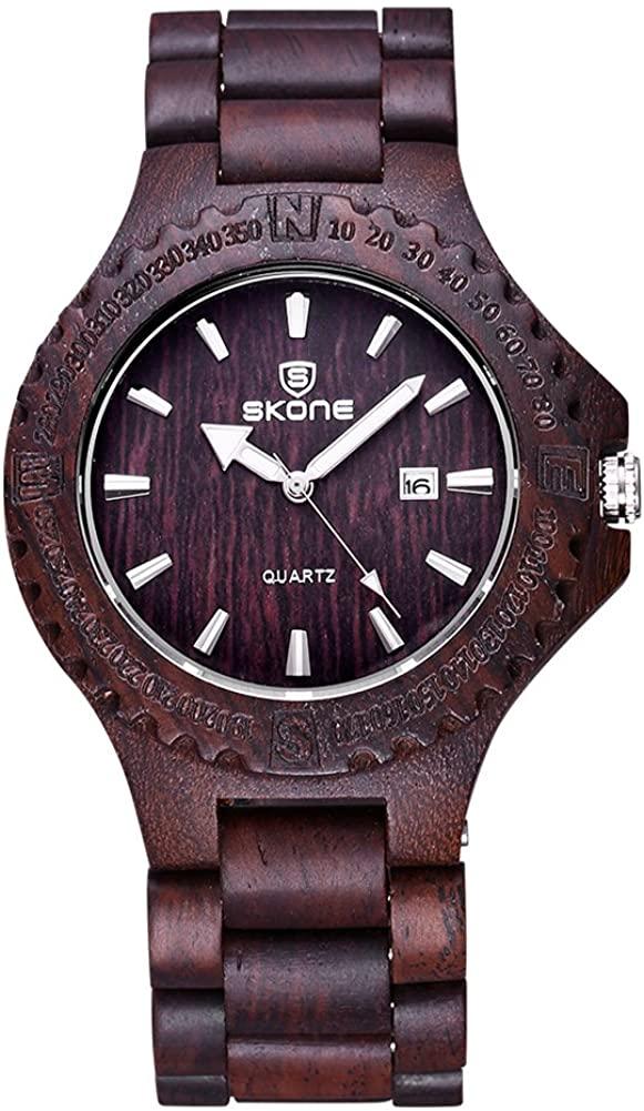Gison Male Gear Surface Ring Calendar Watch Zebra Quartz Surface Watch