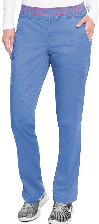 Med Couture Touch Women's Yoga 2 Cargo Pocket Pant, Ceil, XXX-Large