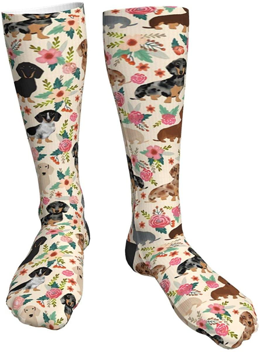 Dress Socks Fun Colorful Crazy Art Socks Casual Crew Socks for Men Women
