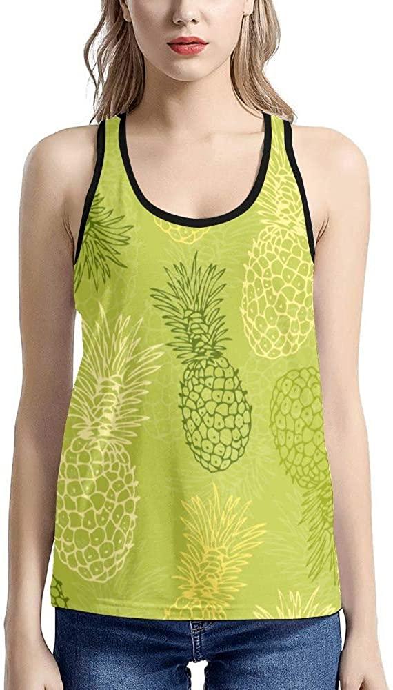 XOZOTY Tank Tops for Women Casual Floral Branch Butterfly T-Shirt Workout (XS-XXL)