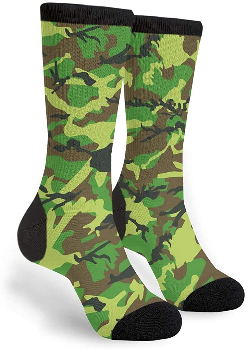 High Ankle Crew Socks Casual Mid Calf Dress Socks Long Tube Socks For Men Women