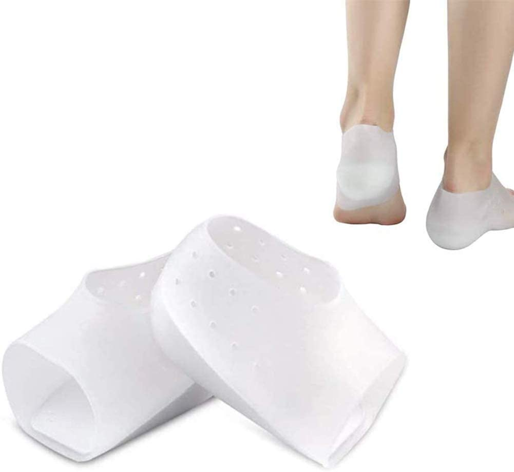 Concealed Footbed Enhancers Invisible Height Increase Silicone Insoles Pads (5CM)