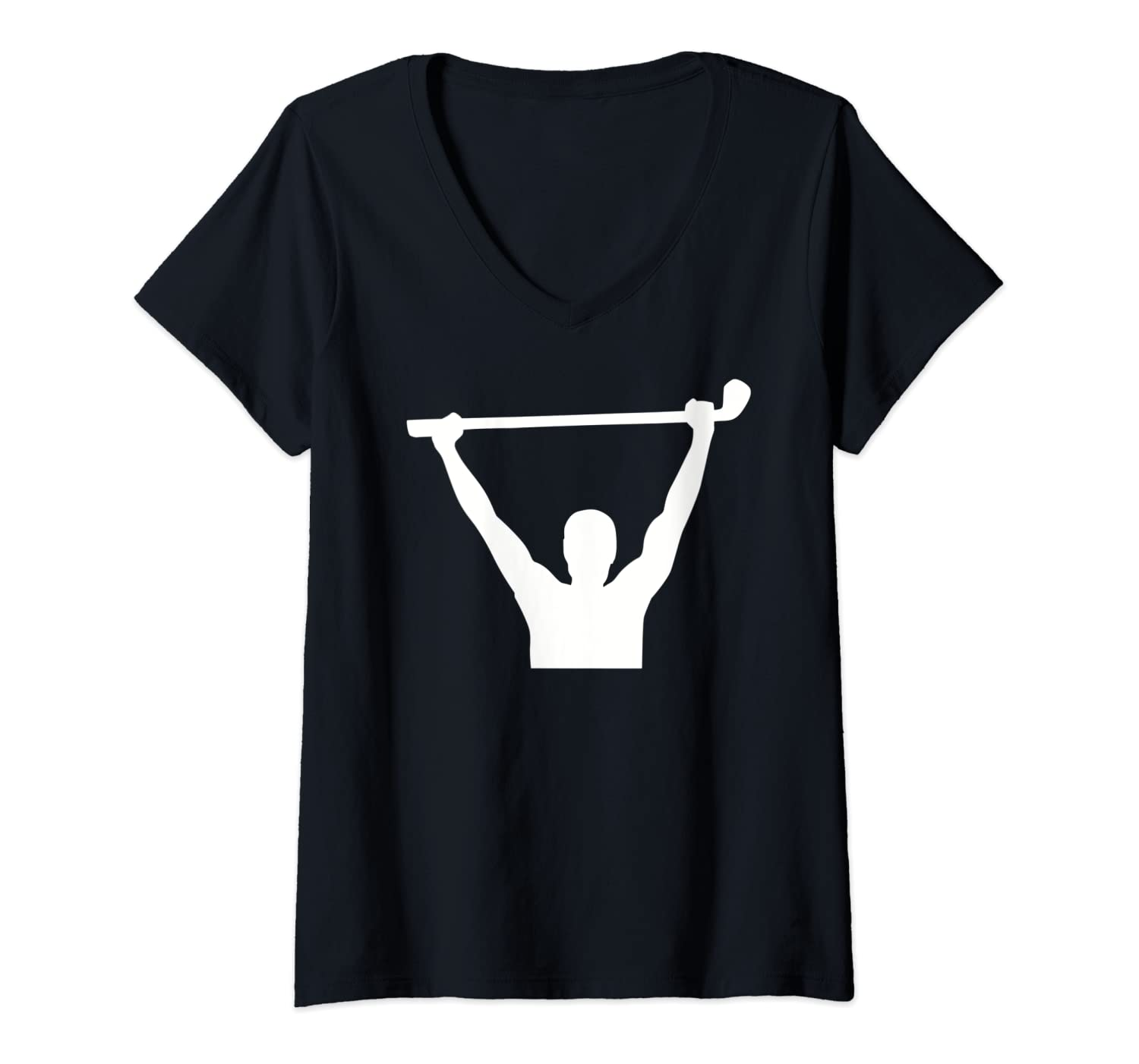 Womens Golf winner champion V-Neck T-Shirt