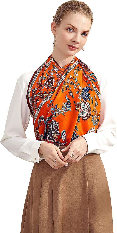 Grace Scarves 100% Silk Scarf, Extra-Large