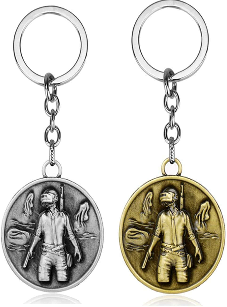 Cartoon Anime and Games Keychain Jewelry Key Ring Gifts for Men Women Teen Boy Girls Kids