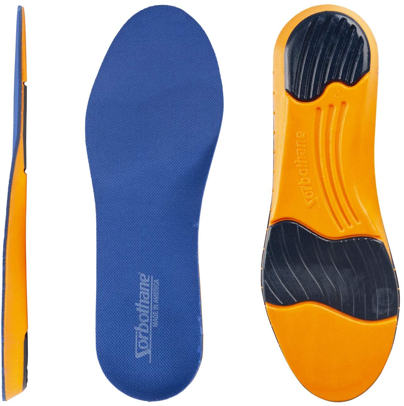 RxSorbo Sorbothane Ultra Work Sport Insole - Men's 14-15