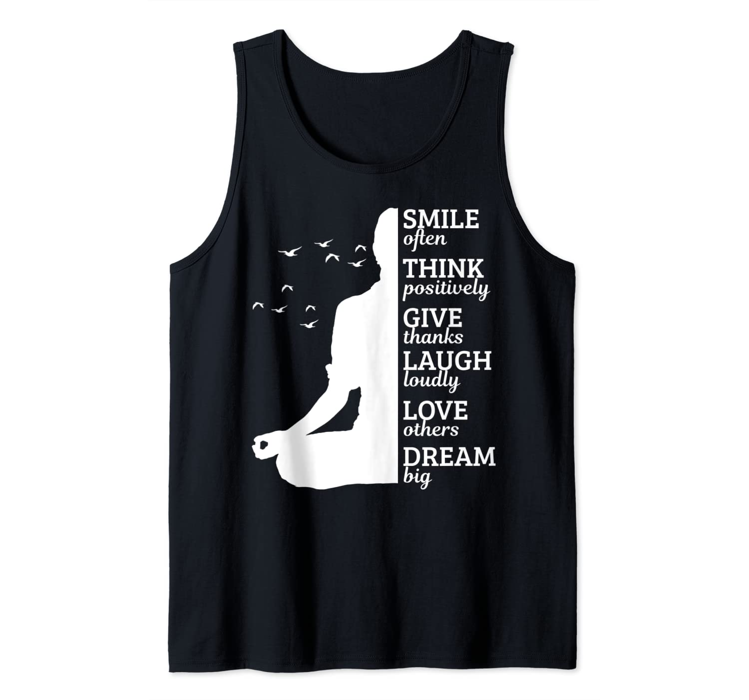 Meditation Yoga Zen Buddhism Buddhist Yogi Quote Gift Tank Top