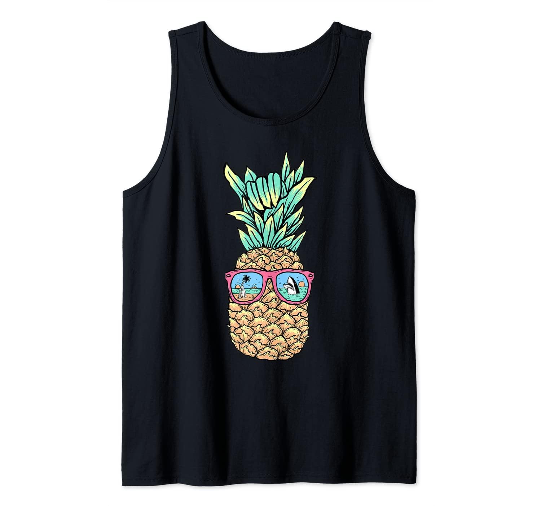 Pineapple Summer Vocational Design for Men Women and Kids Tank Top