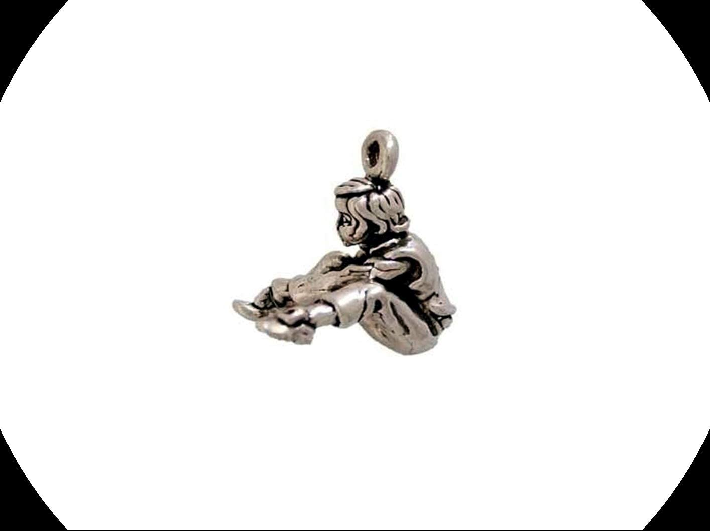 One, Two, Buckle My Shoe Silver Charm Adorable Charms and More for Your own Designs by CharmingStuffS