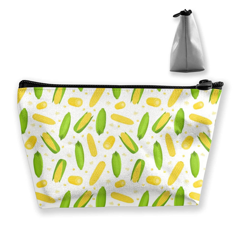 Women Thanksgiving Corn Fall Corns Pattern (57) Storage Bag Travel Bag Large Capacity For Makeup Brushes Jewelry Trip