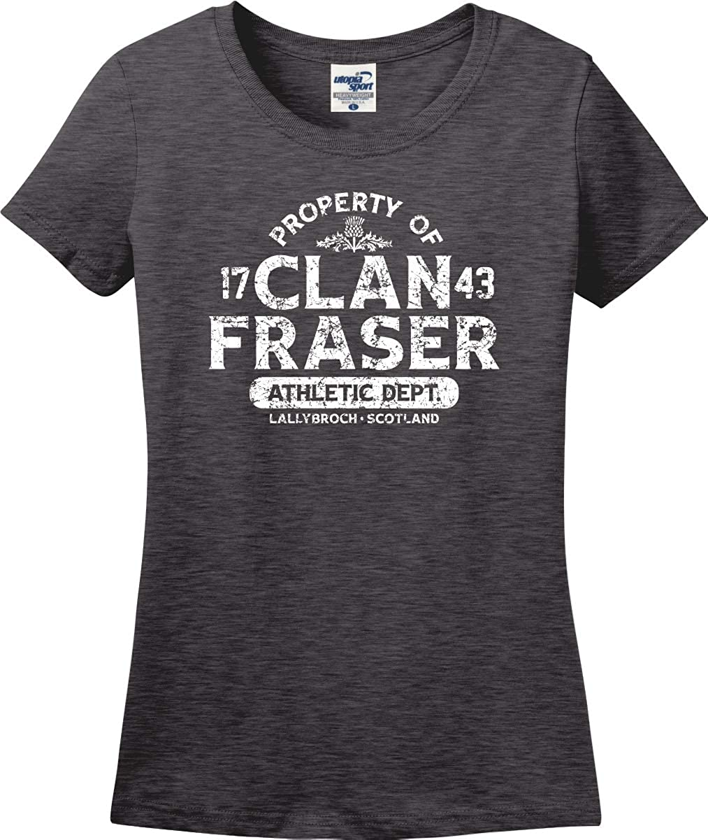Clan Fraser Athletic Department 1743 Missy Fit Ladies T-Shirt (S-3X)