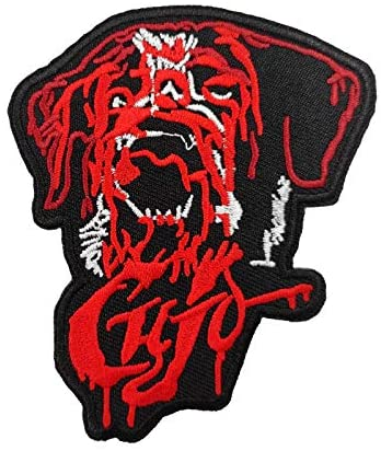 Cujo Killer Dog Embroidered Iron on sew on Patch Horror Monster Gifts