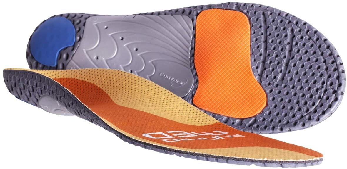 Currex Runpro Insoles - Medium Arch - Orange - XS: Women's 4-5.5 / Men's 2.5-4