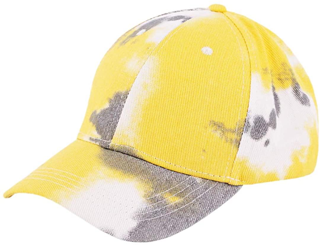 Surkat Cotton Pigment Dyed Baseball Cap Low Profile Hiphop Sun Hat for Women Men