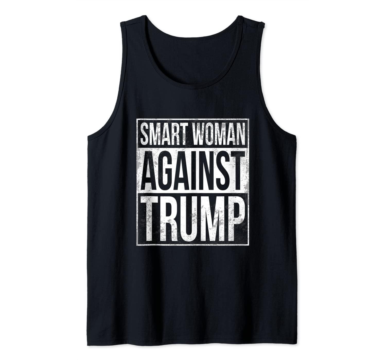 Smart Women Against Trump S.W.A.T. Anti-Trump Tank Top