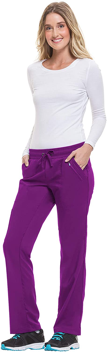 healing hands Purple Label Women's Tanya 9139 Drawstring Pant Eggplant-Medium Tall