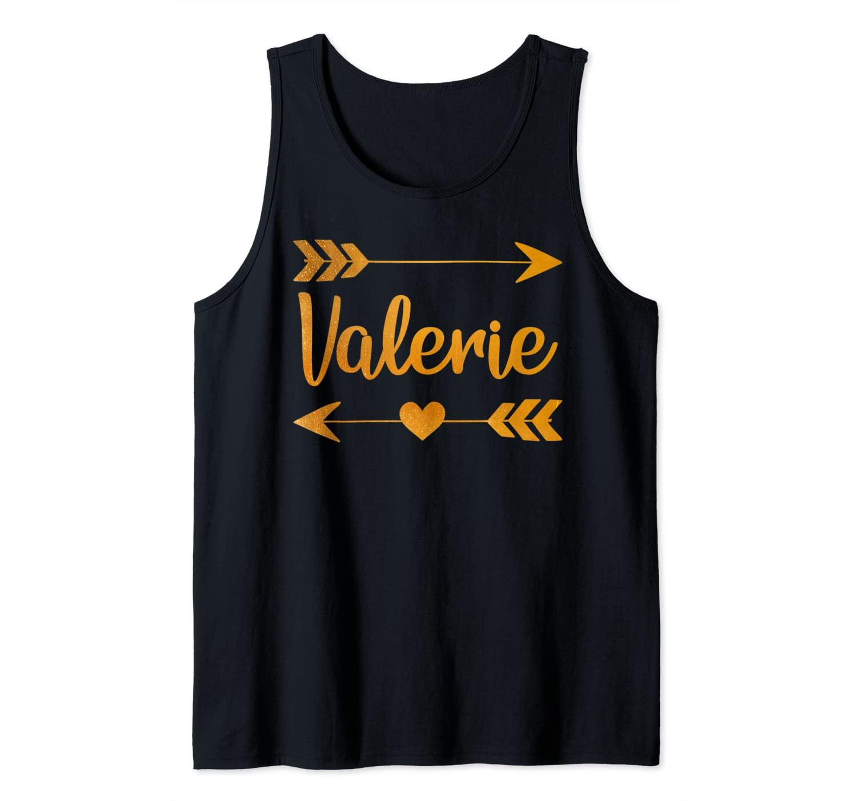 VALERIE Personalized Name Funny Birthday Custom Gift Idea Tank Top