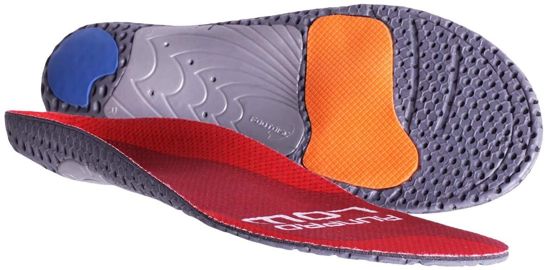 Currex Runpro Insoles - Cus Low Arch - Red - L: Women's 10-11.5 / Men's 8.5-10