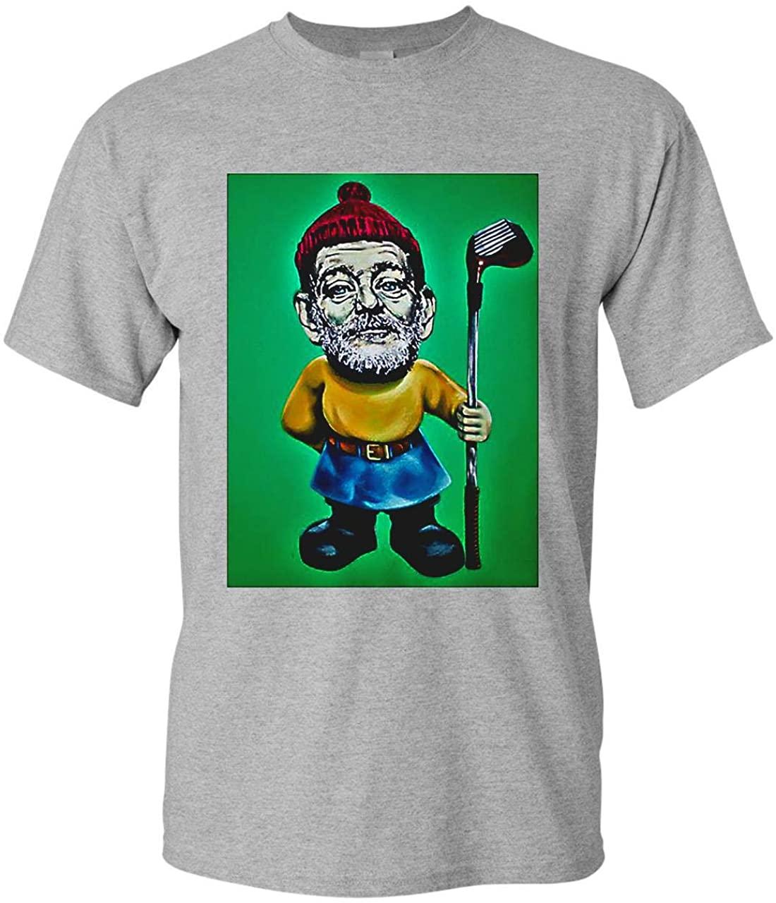 SAYOMEN - Bill Murray Golf Shirt T-Shirt Hoodie Long Sleeve Sweaters L1_05 T-Shirt Soft Warm Comfortablefor, Men Women, Christmas, Valentine