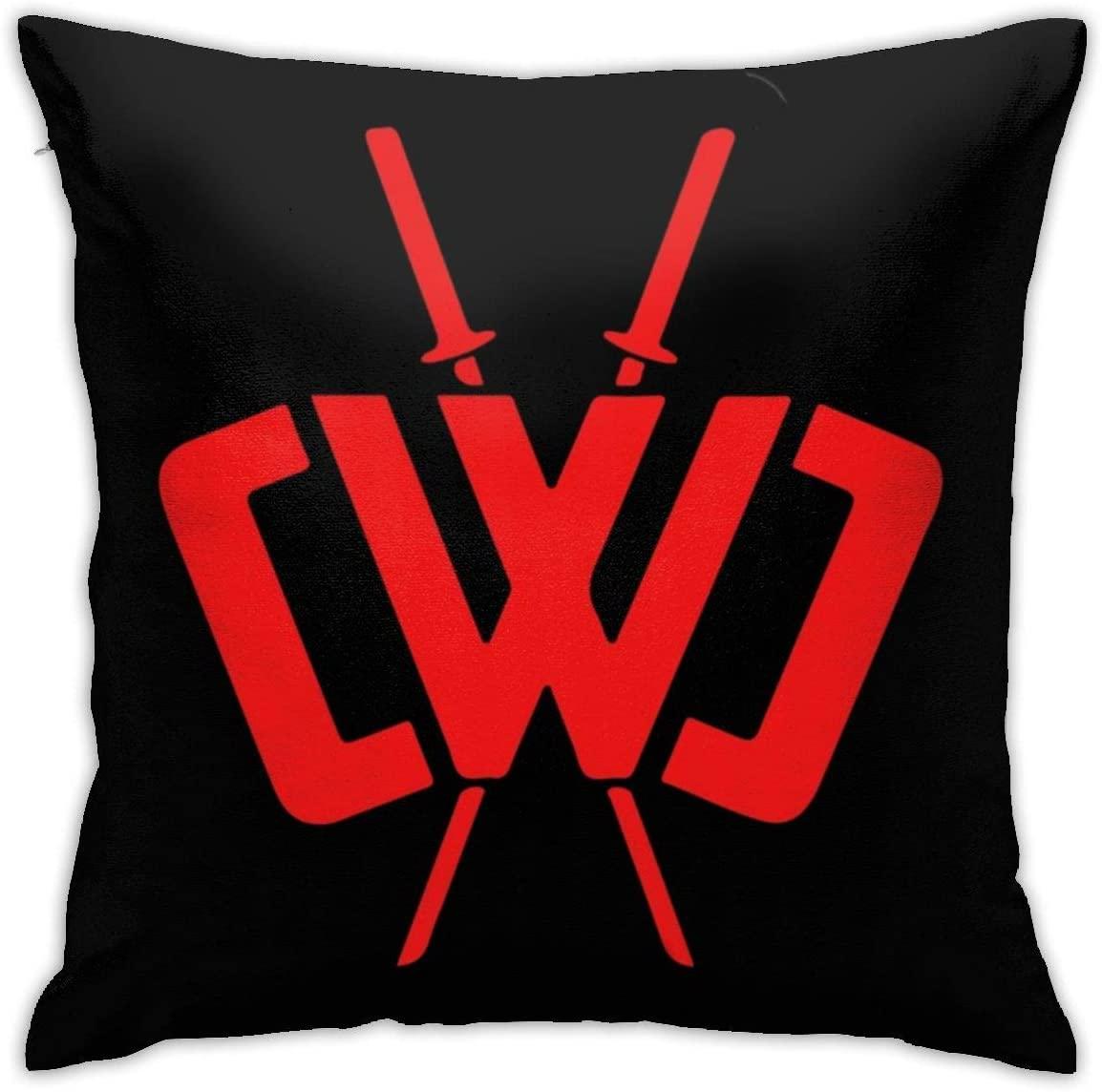 Dxddsdks CWC Chad Wild Clay Ninja Throw Pillow Covers Cotton Polyester Cushion Cover Cases Pillowcases Sofa Home Decor 18â€x 18â€Inch (45 x 45cm)