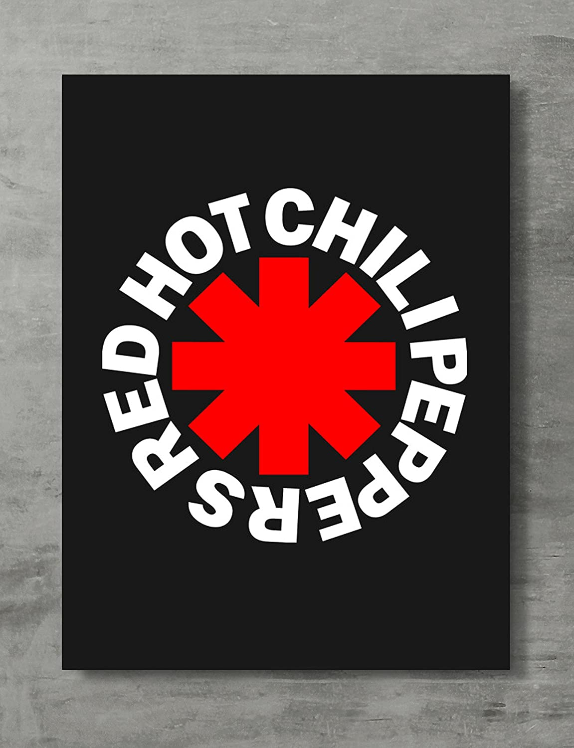 APPLEpie Red Hot Chili Peppers (Logo) Poster High Definition Posters Standard Size 24 x 18 inch