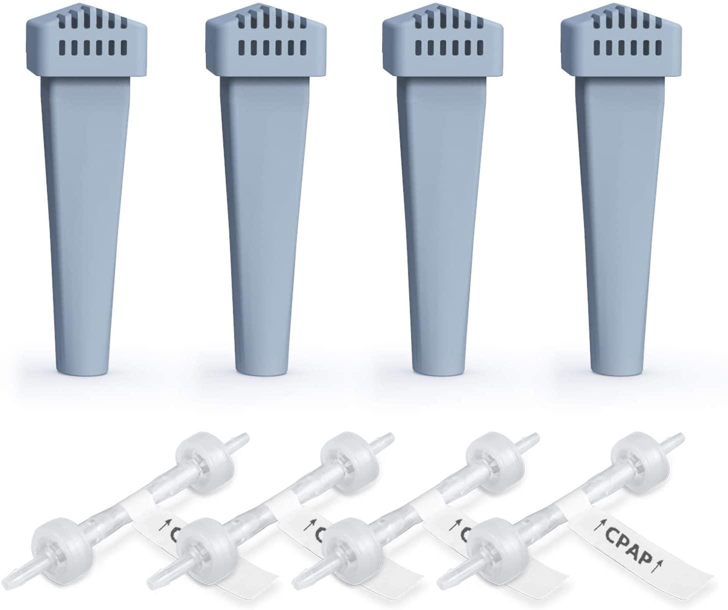 4Packs Filter Replacement Kit,Cartridge Filter Kit,Cartridge Filter Parts for Machine Accessory,Included 4 Cartridge Filters+4 Check Valve