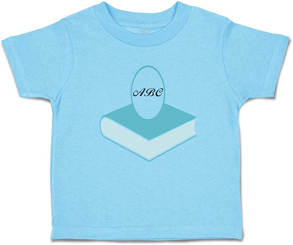 Custom Toddler T-Shirt Your Monogram Books Education School Teacher E Cotton