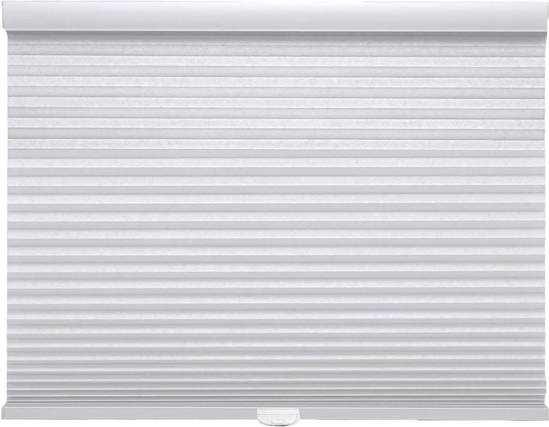 Trader Blinds Cordless Light Filtering Cellular Shade White 25