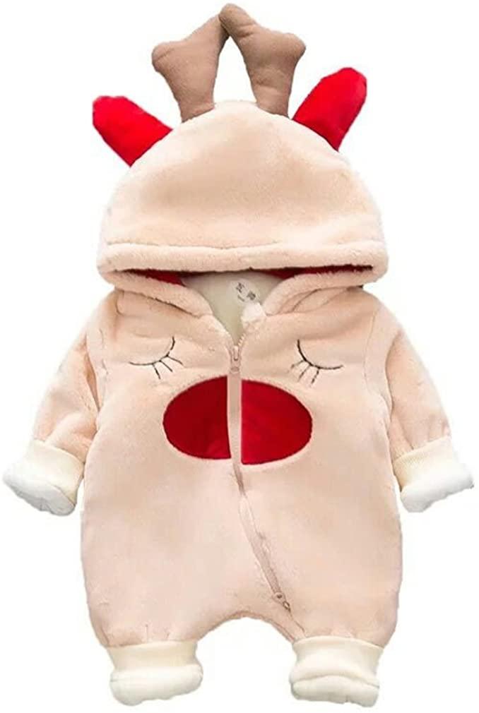 ARISONBELAE Baby Bodysuits Winter Newborn Rompers Mink Fur Baby Girls and Boys Clothes