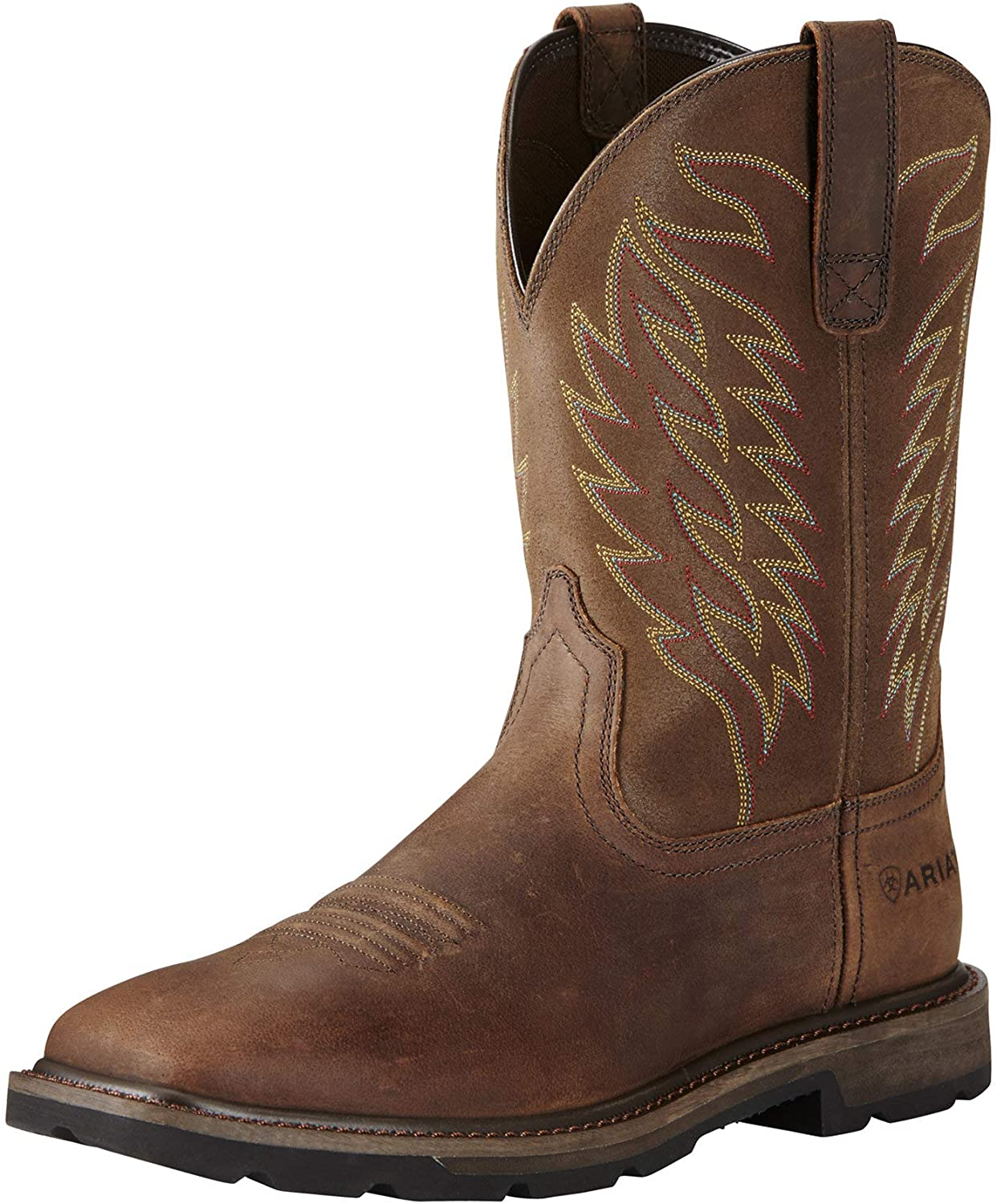 Ariat Mens Groundbreaker Wide Square Toe Workboot